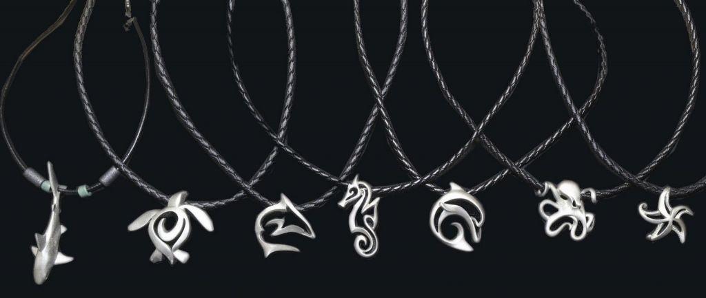 colliers turtle prod bijoux plongée