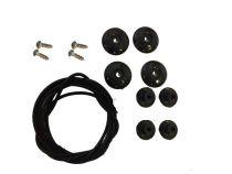 Kit Visserie / Lacets C4 carbon