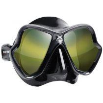 Masque Mares X Vision ULTRA Liquid Skin  Verres Mirroirs GOLD