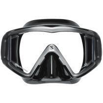 Masque Scubapro Cristal Vu Silicone Noir