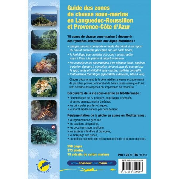 guide chasse sous marine meditérannée