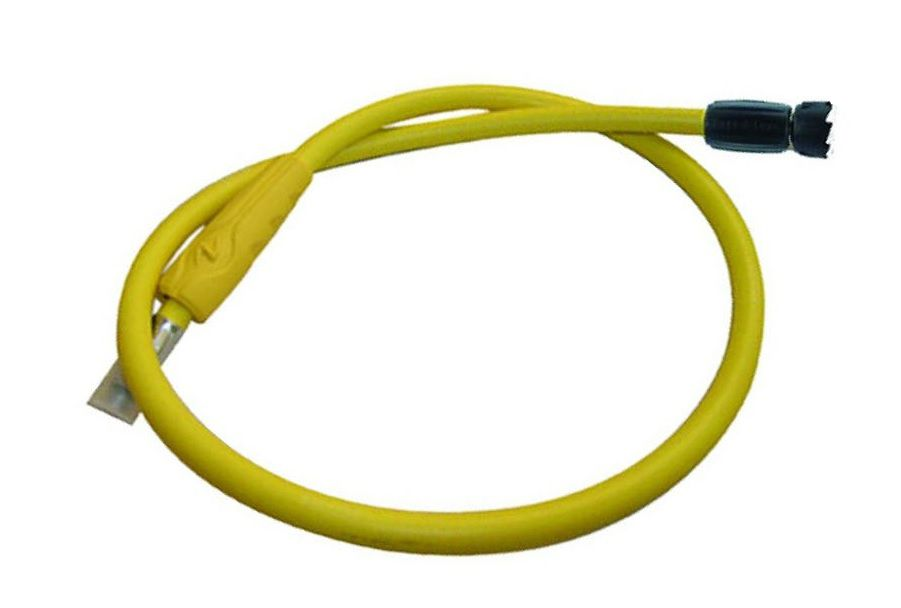 Flexible Octopus  Aqualung Quick Connect Jaune