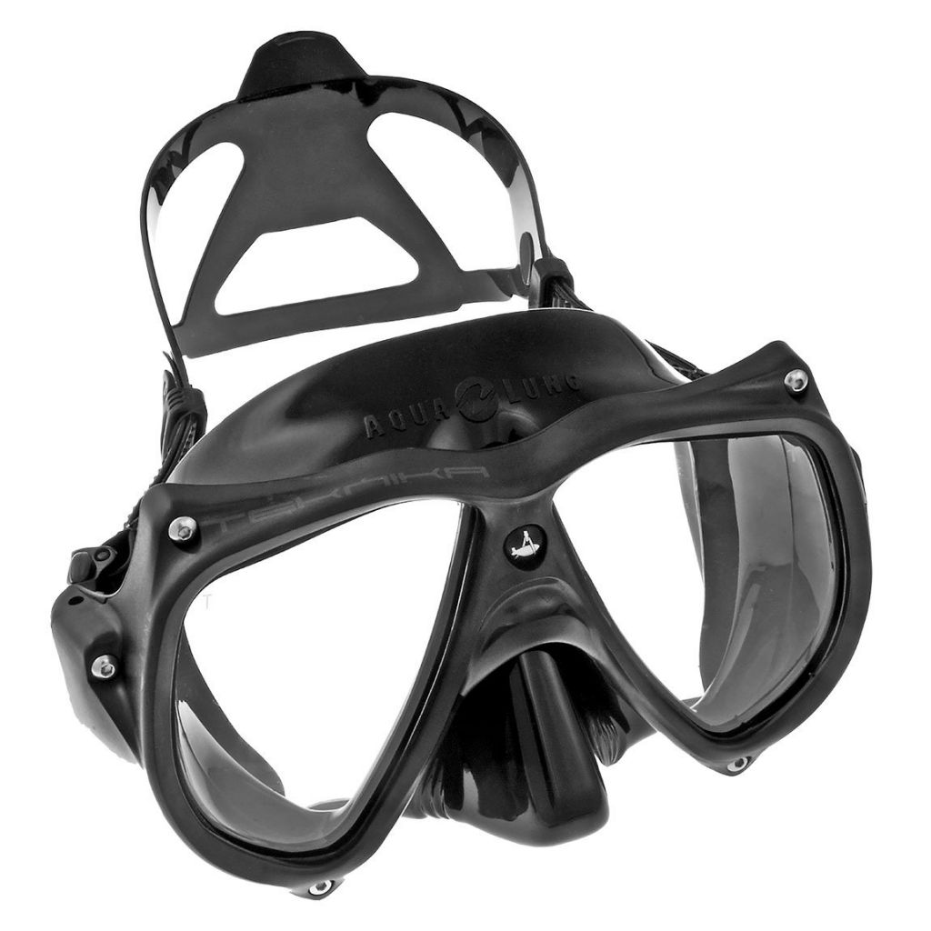 Masque Aqualung Teknika Silicone Noir