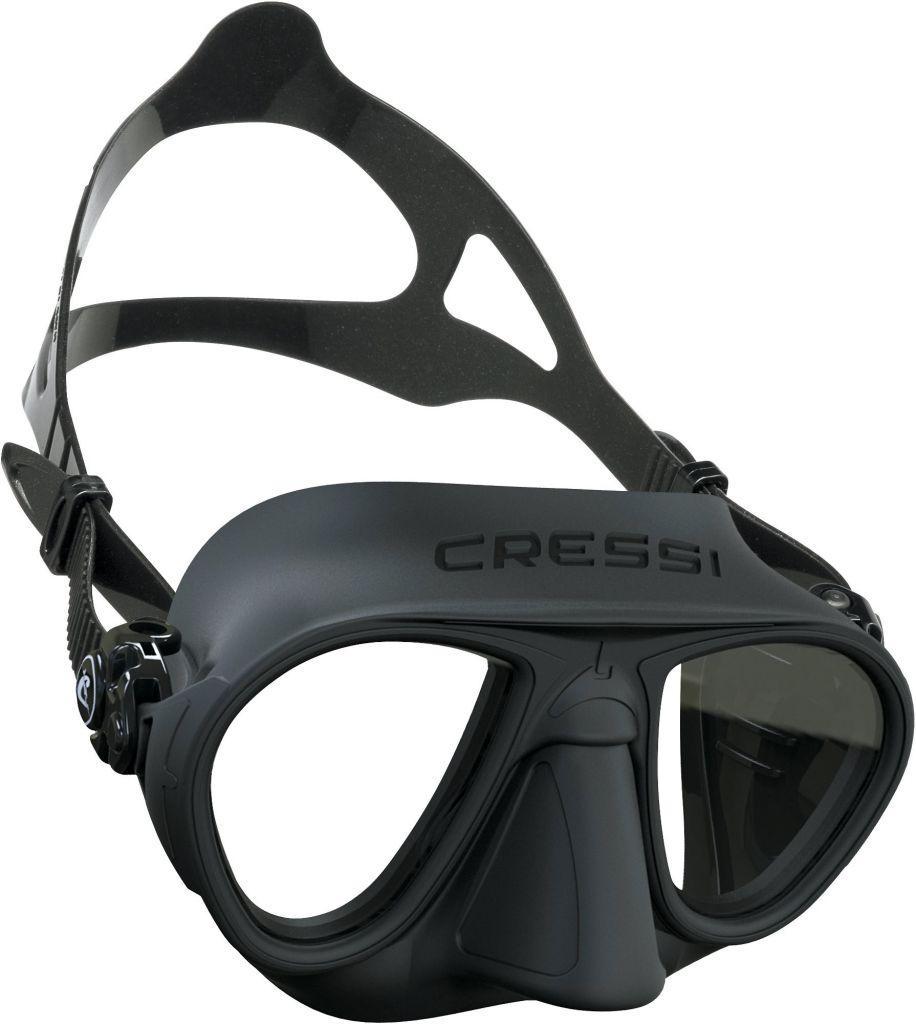 Masque Cressi Sub Calibro Silicone Noir