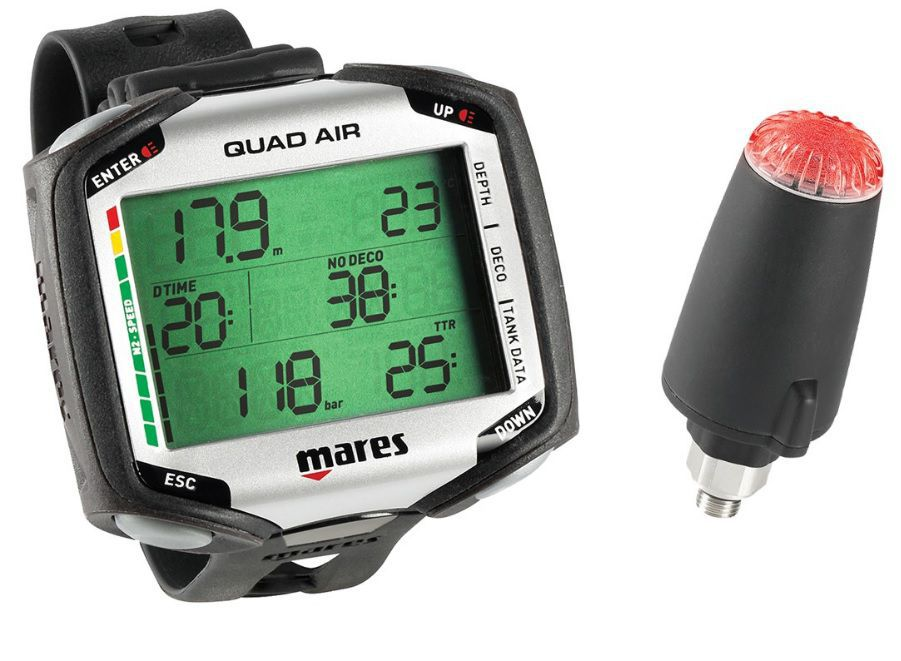 Ordinateur Mares Quad Air + Sonde Gestion d\'Air