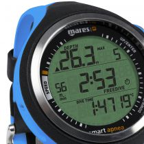Ordinateur Montre Mares Smart Apnéa Bleue