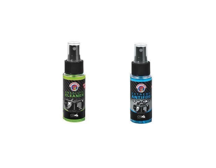 Pack Anti Buée C4 Cleaner et Antifog