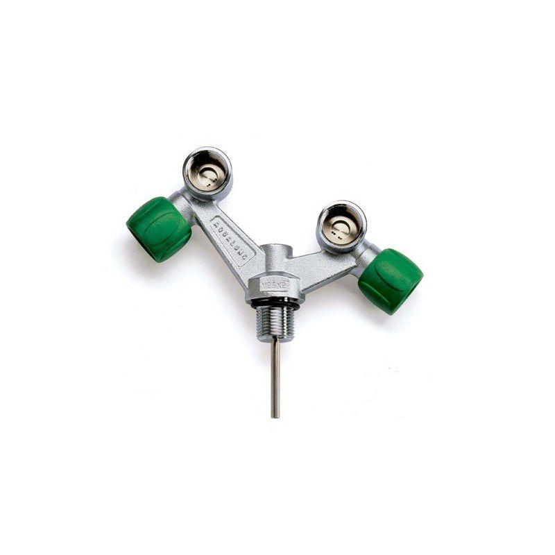 Robinet Aqualung Nitrox Assymétrique TAG  230 bars