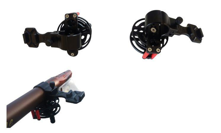 Support Caméra LGSub Monoclick Embarquée Pour Pneumatique