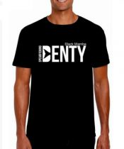T Shirt Denty Spearfishing Black Mamba